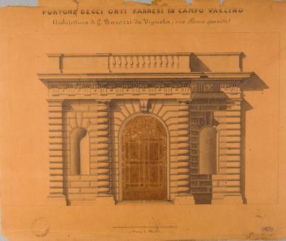 Palatino, ingresso agli Orti Farnesiani