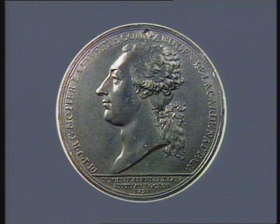M.P.J.R.G. MOTIER LAFAYETTE COMMAND.T GEN.L DE LA GARDE NAT.E PAR.E DEPUIS LE 15 JUILLET 1789 // JUSQU'AU 8 OCTOB. // 1791