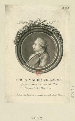 Louis Marie Guillaume avocat au conseils du Roi, deputé de Paris : [estampe]