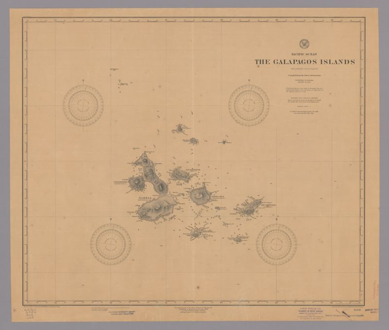 The Galápagos Islands (belonging to Ecuador) : compiled from the latest information