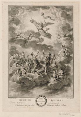 Hommage des arts prix d'émulation 1793 : [estampe]