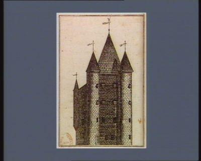 [Vue de la Tour de la prison du Temple] [estampe]