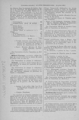 Tome 70 : Du 30 juillet au 9 août 1793 - page 2