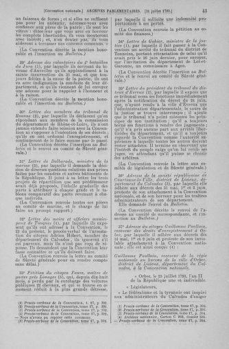 Tome 70 : Du 30 juillet au 9 août 1793 - page 43