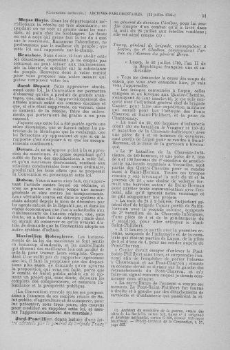 Tome 70 : Du 30 juillet au 9 août 1793 - page 51
