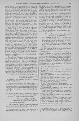 Tome 70 : Du 30 juillet au 9 août 1793 - page 61