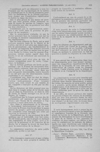 Tome 70 : Du 30 juillet au 9 août 1793 - page 139