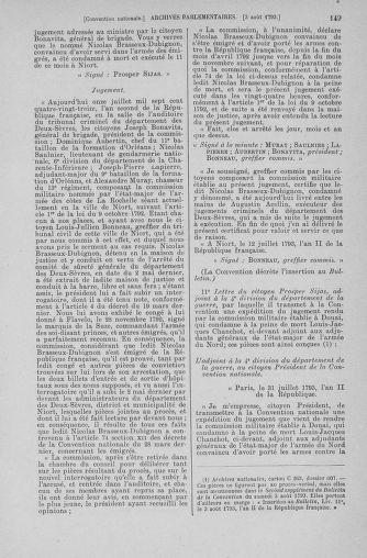Tome 70 : Du 30 juillet au 9 août 1793 - page 149