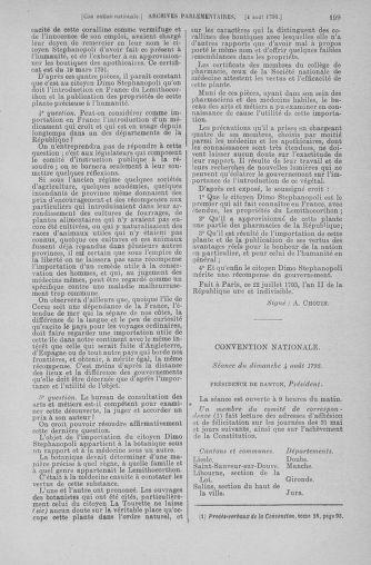 Tome 70 : Du 30 juillet au 9 août 1793 - page 199