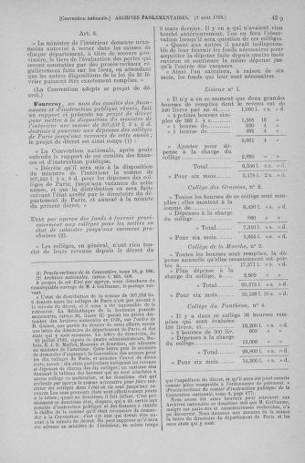 Tome 70 : Du 30 juillet au 9 août 1793 - page 429
