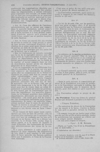 Tome 70 : Du 30 juillet au 9 août 1793 - page 432
