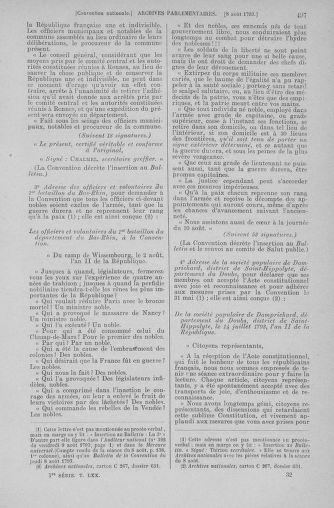 Tome 70 : Du 30 juillet au 9 août 1793 - page 497