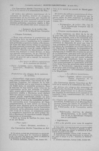 Tome 70 : Du 30 juillet au 9 août 1793 - page 504