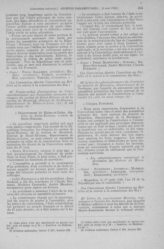 Tome 70 : Du 30 juillet au 9 août 1793 - page 505