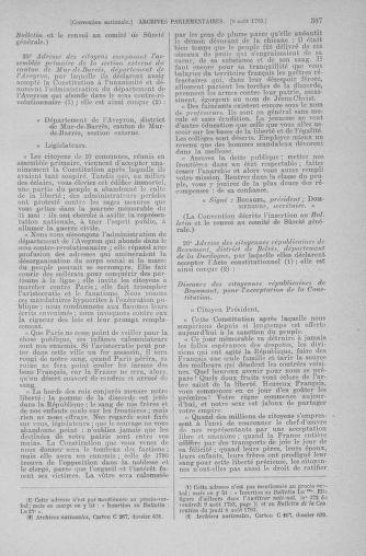 Tome 70 : Du 30 juillet au 9 août 1793 - page 507