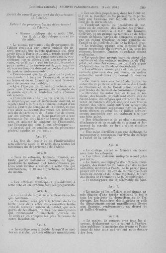 Tome 70 : Du 30 juillet au 9 août 1793 - page 509