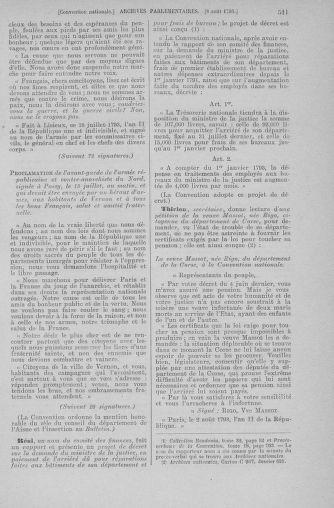 Tome 70 : Du 30 juillet au 9 août 1793 - page 511