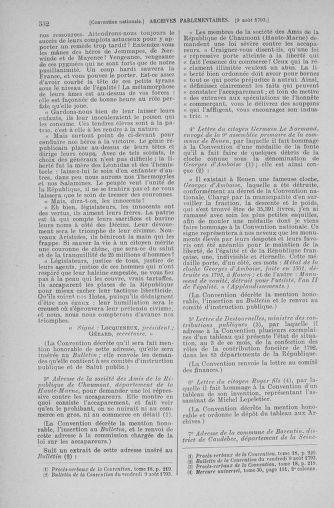 Tome 70 : Du 30 juillet au 9 août 1793 - page 532