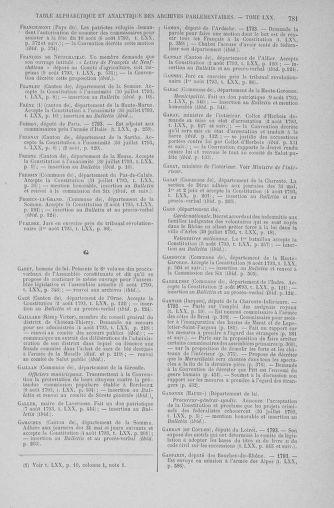 Tome 70 : Du 30 juillet au 9 août 1793 - page 781