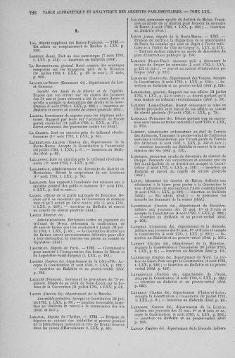 Tome 70 : Du 30 juillet au 9 août 1793 - page 788