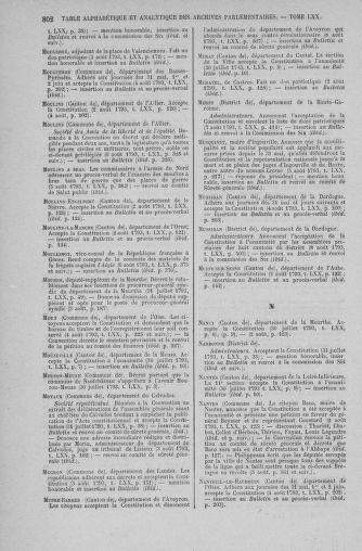 Tome 70 : Du 30 juillet au 9 août 1793 - page 802