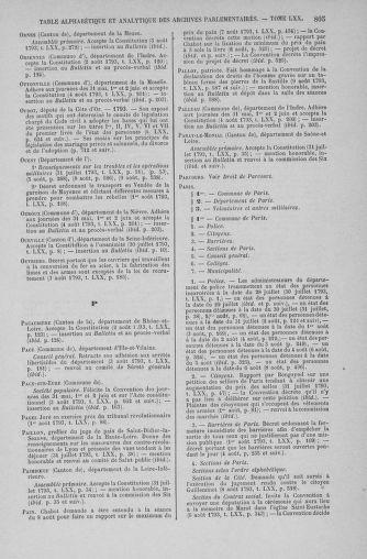 Tome 70 : Du 30 juillet au 9 août 1793 - page 805