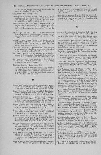Tome 70 : Du 30 juillet au 9 août 1793 - page 810
