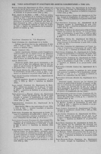 Tome 70 : Du 30 juillet au 9 août 1793 - page 814