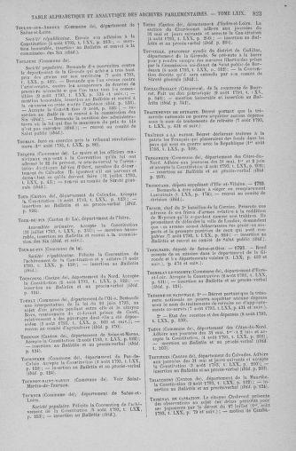 Tome 70 : Du 30 juillet au 9 août 1793 - page 823
