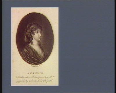 A.C. Renaud arrêtée chez Roberspierre le 4 p.al jugée le 29 an 2 de la Républ. : [estampe]