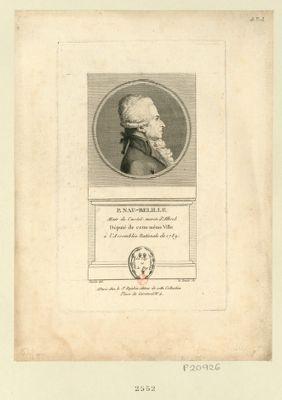 P. Nau-Belille mair. de Castel-Moron d'Albret député de cette même ville à l'Assemblée nationale de 1789 : [estampe]