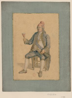 [Louis seize coiffé du bonnet rouge le 20 juin 1792] vive la nation : [dessin]