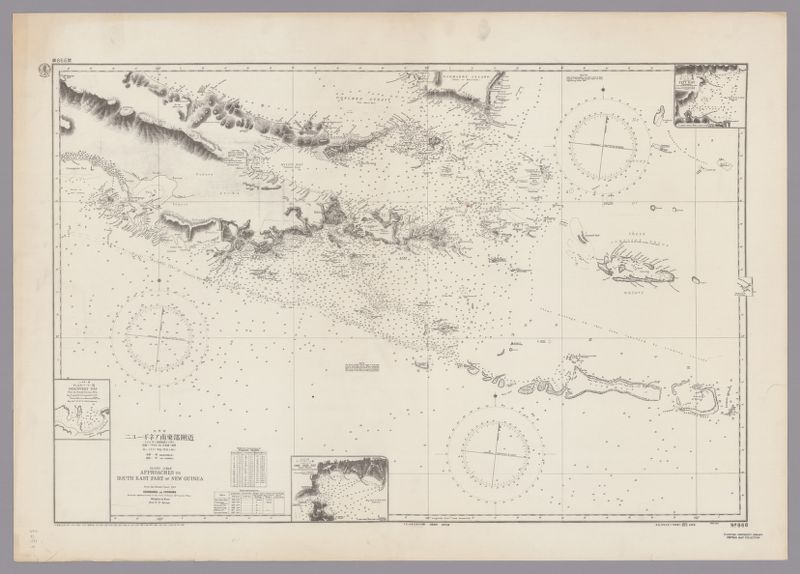 Pacific Ocean, Approaches to south east part of New Guinea
