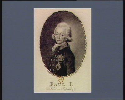 Paul I Kaiser von Russland [estampe]