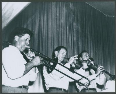 Yerba Buena Jazz Band without Lu Watters at Hambone Kelly's: Turk Murphy, Bob Scobey and Bob Helm