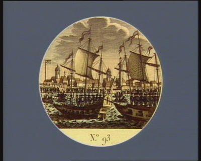 N.o 93 16 novembre. Prise du port et de <em>la</em> ville d'Ostende... : [estampe]