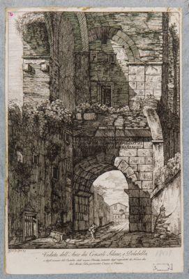 Arco di Dolabella visto da ponente