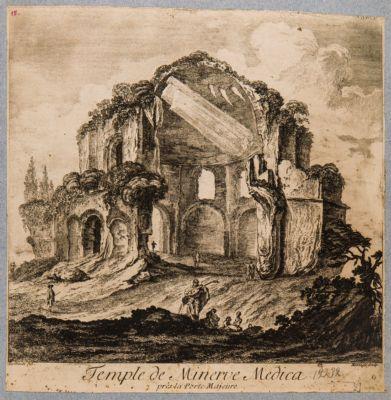Temple de Minerve Medica pres la Porte Majeure