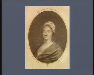 Marie-Anne Charlotte Corday cette fanatique fut condamnée à mort... : [estampe]