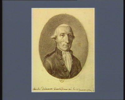Claude Delacourt d'ambésieux né le 11 mars 1730 : [dessin]