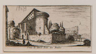 Veduta della chiesa di S. Giovanni, parte posteriore