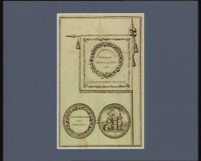 Confédération nationale à Paris le 14 juillet 1790 département de l'Ain... : [estampe]