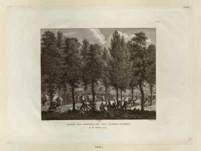 Diner des Marseillais aux Champs-Elysées le 30 juillet 1792 : [estampe]