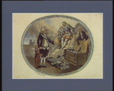 A ces nobles traits Henry IV et Sully reconnoisent les Francois Louis XVI montrant a son fils le zele des Francois : [estampe]