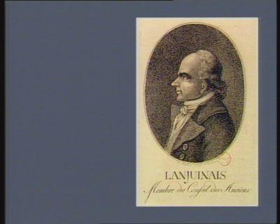 Lanjuinais membre du Conseil des Anciens : [estampe]