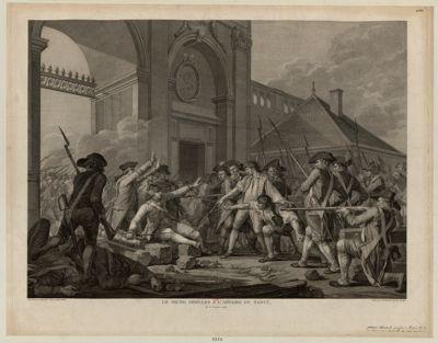 Le  Jeune Désilles a l'affaire de Nancy le 31 aoust 1790 : [estampe]