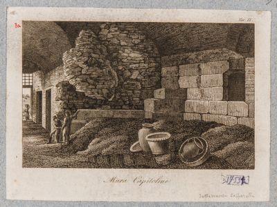 Campidoglio, resti di mura nel Palazzo Caffarelli