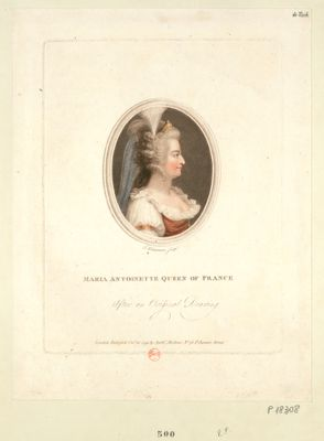 Maria <em>Antoinette</em> Queen of France [estampe]