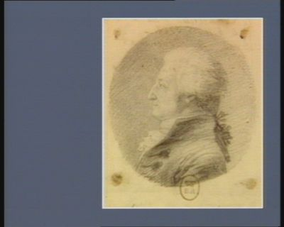 Jean Barthélémy Le Couteulx de Canteleu né à Rouen le 4 mars 1746 député de Rouen à l'Assemblée nationale constituante : [dessin]