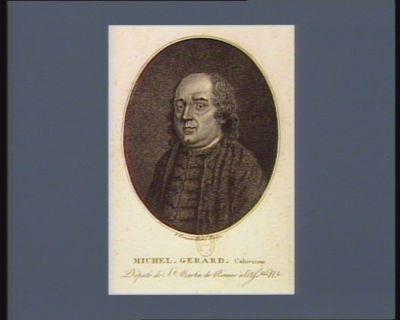 Michel Gerard. Cultivateur député de St Martin de Rennes à l'Ass.blée n.le : [estampe]